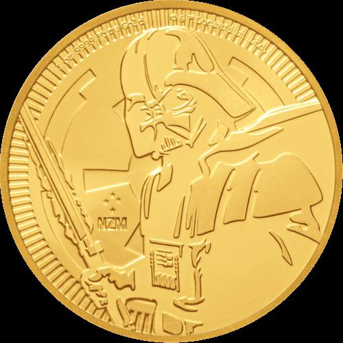 1 Unze Gold Star Wars Darth Vader 2019