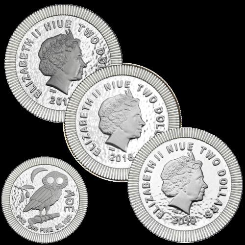 1 Unze Silber Eule von Athen