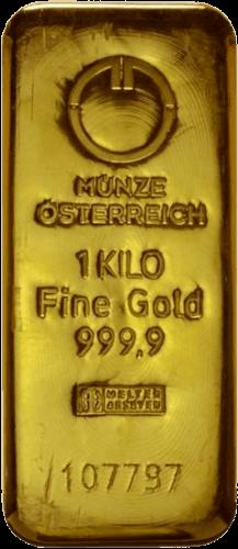 1 kg Goldbarren Münze Österreich