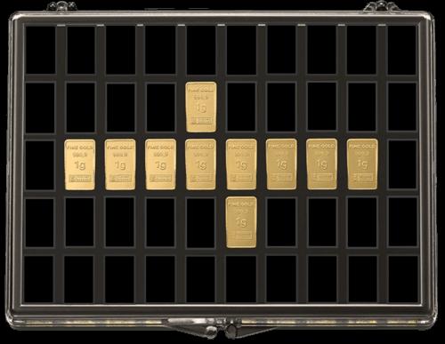 10 x 1 g Gold UnityBar Collection Heimerle und Meule