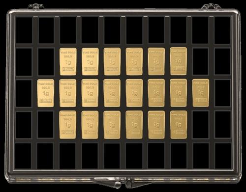 20 x 1 g Gold UnityBar Collection Heimerle und Meule