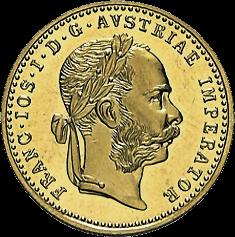 3,44 g Gold Österreich 1 Dukat diverse Jahrgänge