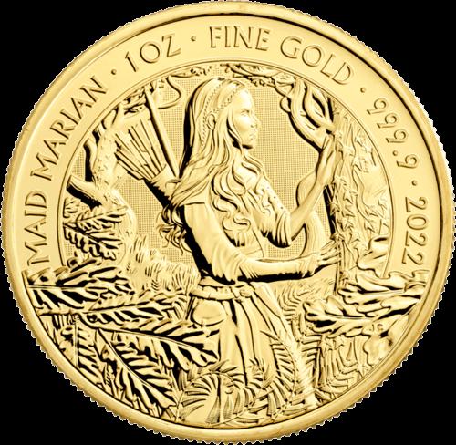 1 Unze Gold Mythen und Legenden Maid Marian 2022