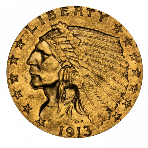 3,76 g Gold 2,5 Dollar USA Indian Head diverse Jahrgänge