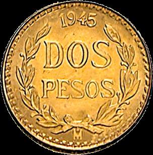 1,5 g Gold 2 Pesos Mexiko Centenario