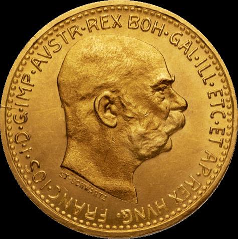 3,04 g Gold Österreich 10 Kronen diverse Jahrgänge