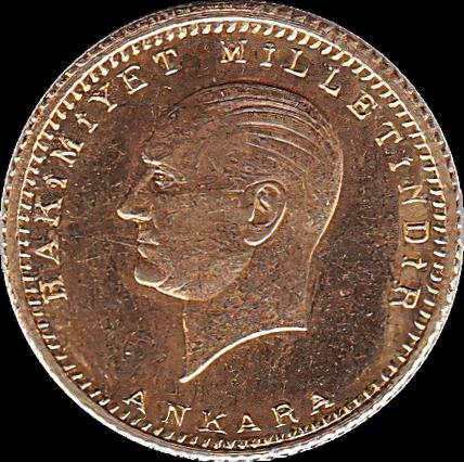 3,31 g Gold Türkei 50 Kurush Piaster
