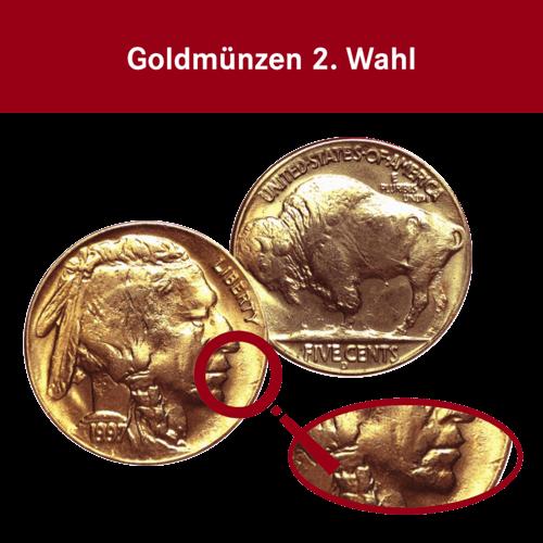 1 Unze Gold American Buffalo (2. Wahl)
