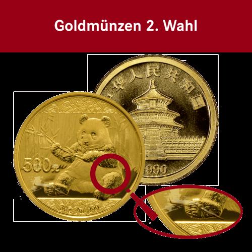 30 g Gold China Panda (2. Wahl)