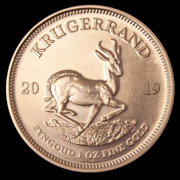 1 Unze Gold Krügerrand 2020 (mehrwertsteuerfrei)