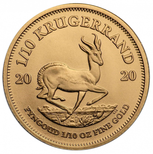 1/10 Unze Gold Krügerrand 2020