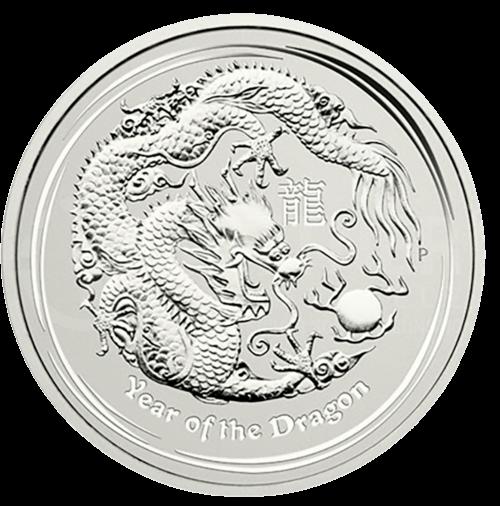 1 kg Silber Australien Lunar II Drache 2012