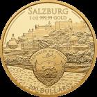 1 Unze Gold Mozart 2017