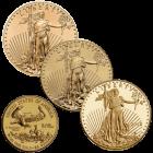 1/2 Unze Gold American Eagle