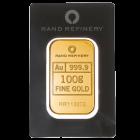"""100 g Goldbarren Rand Refinery """"Elefanten"""""""