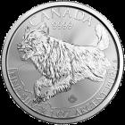 1 Unze Silber Kanada Wolf 2018