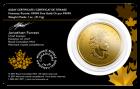 1 Unze Gold Kanada Rotluchs 2020