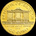 Rückseite der 1 Unze Goldmünze Wiener Philharmoniker | Rückseite der Goldmünze 1 Unze Wiener Philharmoniker von Münze Österreich