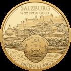 1/2 Unze Gold Mozart 2017