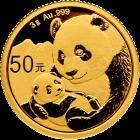 3 g Gold China Panda 2019