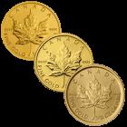 1/10 Unze Gold Maple Leaf diverse Jahrgänge