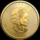 1 Unze Gold Maple Leaf 40th Anniversary 2019