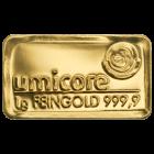 1g Goldbarren von Heraeus, Umicore oder Degussa | Goldbarren 1g von Heraeus, Umicore oder Degussa