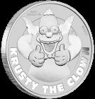 1 Unze Silber Krusty der Clown 2020