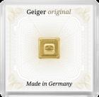 1 g Goldbarren Geiger original