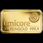 20g Goldbarren von Heraeus, Umicore oder Degussa | Goldbarren 20g von Heraeus, Umicore oder Degussa