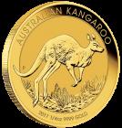 1/4 Unze Gold Australien Känguru 2017