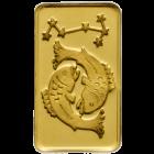 1 g Goldbarren Sternzeichen Fische