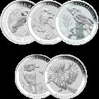 1 kg Silber Kookaburra mehrwertsteuerfrei