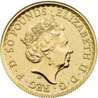 1/2 Unze Gold Britannia