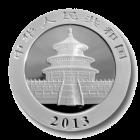 1 Unze Silber China Panda | Rückseite der Panda Silbermünze 1 Unze der China Mint
