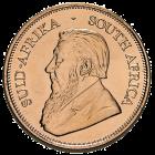 Rückseite der 1/4 Unze Goldmünze Krügerrand | Rückseite Goldmünze Krügerrand 1/4 Unze von South African Mint