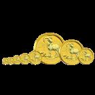 2 Unzen Gold Lunar Ziege 2015