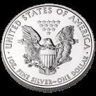 Rückseite der 1 Unze Silbermünze American Eagle   Rückseite der Silbermünze 1 Unze American Eagle von The United States Mint