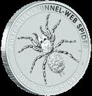1 Unze Silber Australien Trichternetzspinne 2015