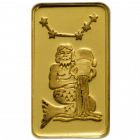 1 g Goldbarren Sternzeichen Wassermann