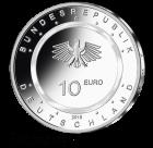 10 Euro Sammlermünze In der Luft 2019 D - Polierte Platte