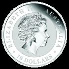 Kookaburra 10 Unze Silber 2016