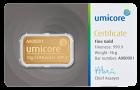 10 g Goldbarren Umicore