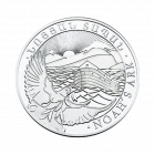 10 Unzen Silber Armenien Arche Noah