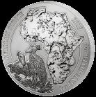 1 Unze Silber Ruanda Schuhschnabel 2019