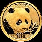 1 g Gold China Panda 2018
