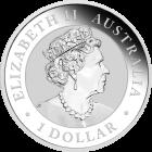 1 Unze Silber Australien Emu 2019