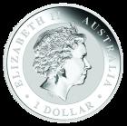 1 Unze Silber Lunar Ziege 2015 Privy Mark