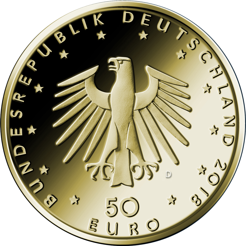 14 Unze Goldmünze Kontrabass 50 Euro 201814 Oz Goldmünzengoldmünzen