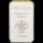 1 Unze Palladiumbarren zollfrei